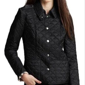 BURBERRY KENCOTT NOVA CHECK LINED QUILTED JACKET